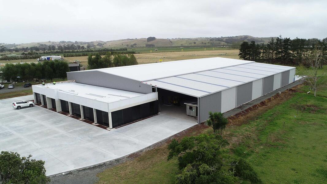 Manfacturing structural steel sheds