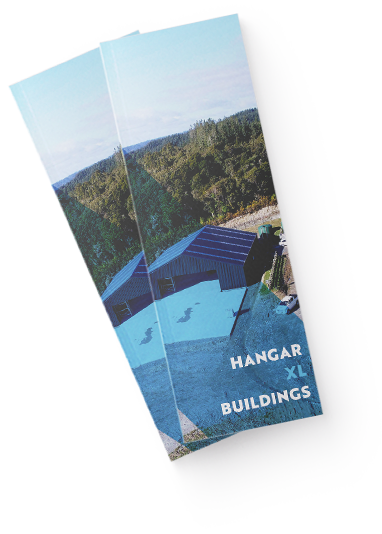 Commercial aircraft hangar brochure by XL Structural Steel