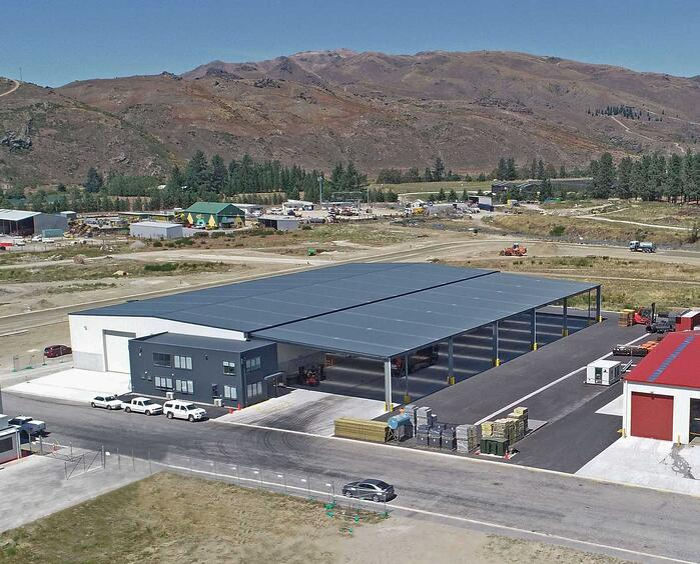 ATL Haulage Large Warehousing Shed