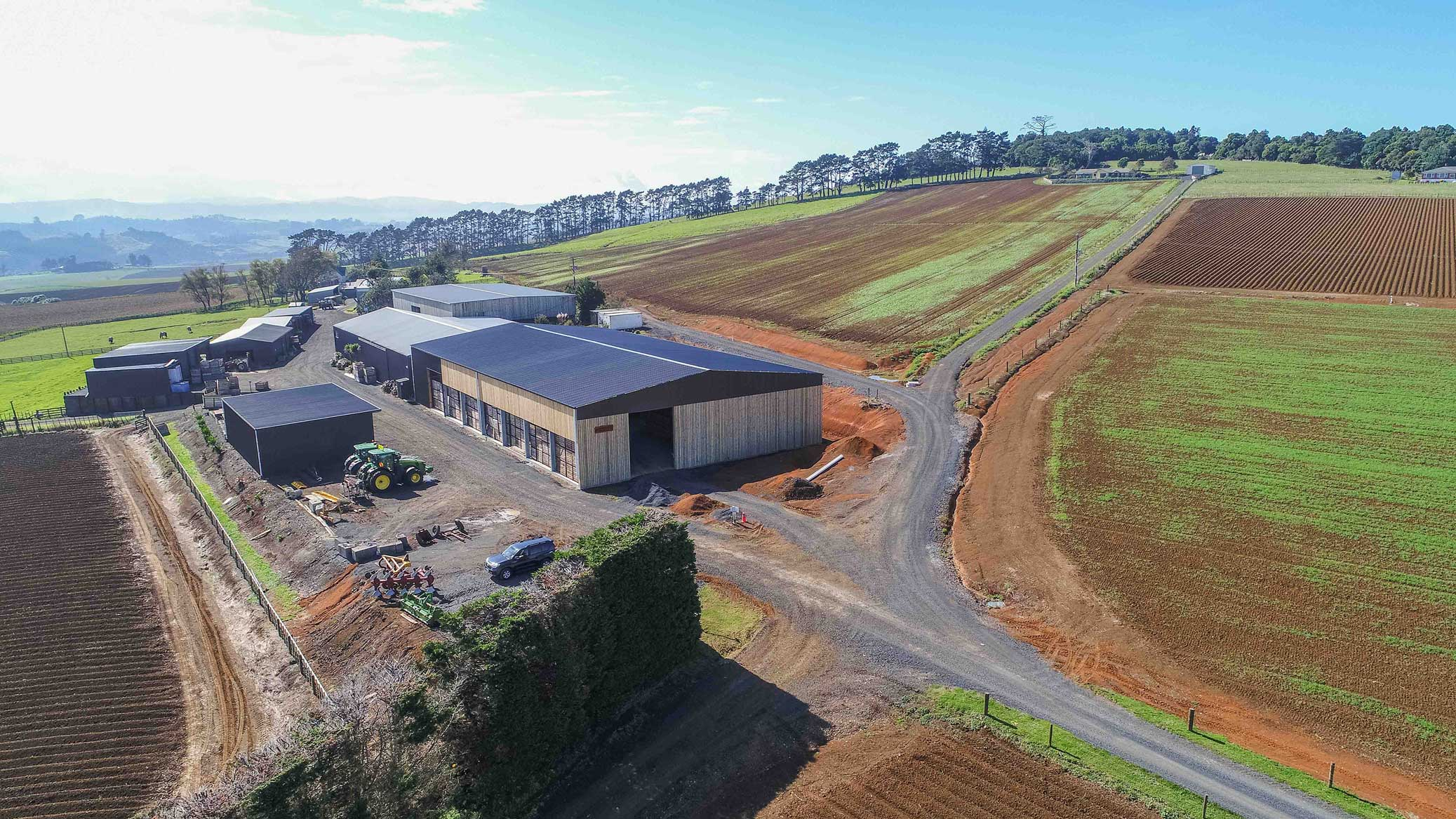 Produce storage building NZ