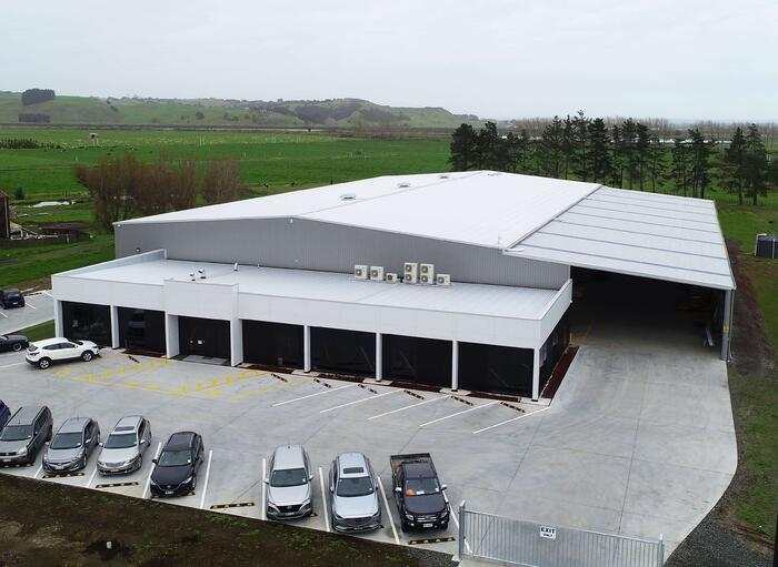 Shade Systems Manufacturing Building NZ