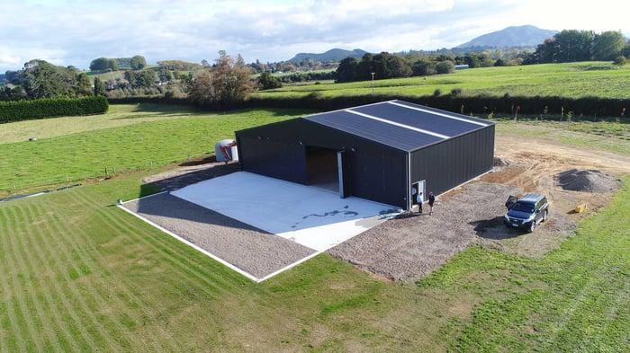 XL Structural Steel Hangar - Rotor Work NZ