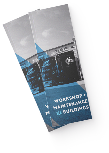 Workshops and maintenance sheds, download our brochure for free