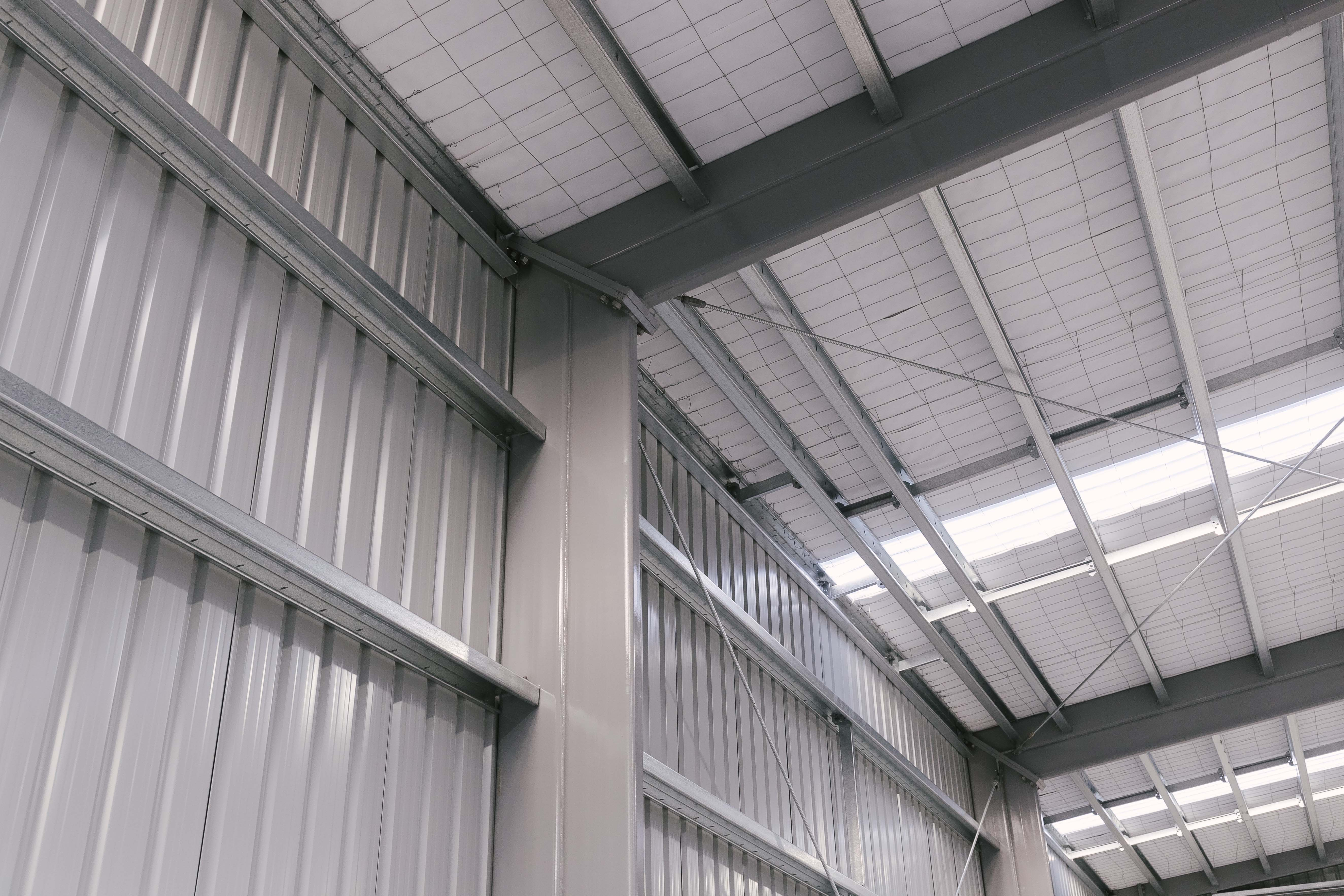 Corrosion protection for industrial buildings